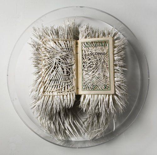 #Franjes #papierkunst Zuid-Afrikaanse kunstenares Barbara #Wildenboer.