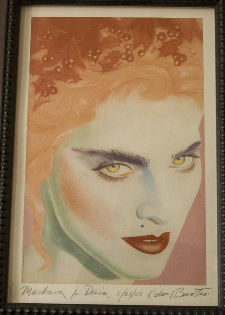 Madonna (Interview Magazine Cover - February 1985) by Richard Bernstein -- Richard Bernstein, Contemporary Art