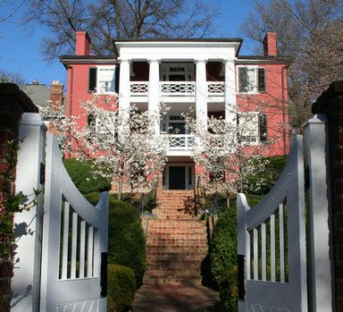 Woodrow Wilson birthplace, Staunton, VA.  Art class for Summer, lovely watercolors!