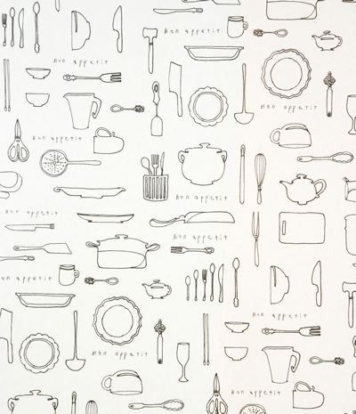 o-check   kitchen line wrapping paper
