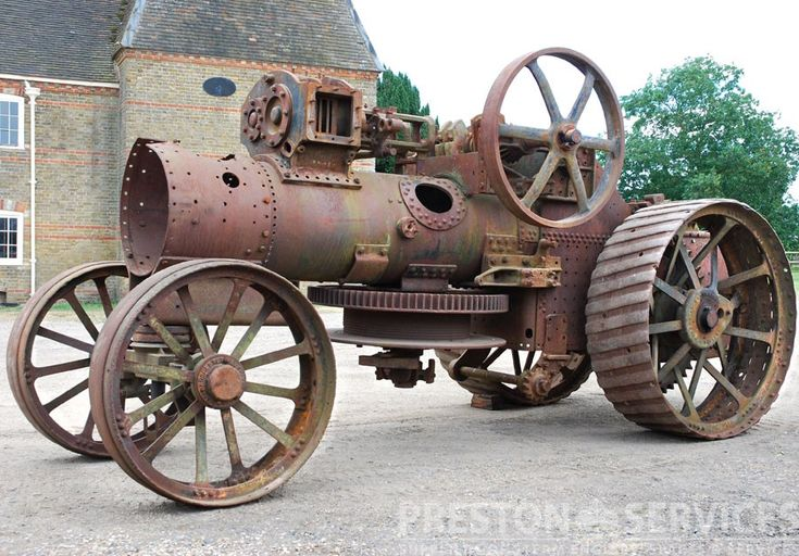 No.6547 ~ Built 1908 Double Crank Compound One of only 3 Aveling & Porter built ploughing engines known to survive, this very rare machine awaits restoration.