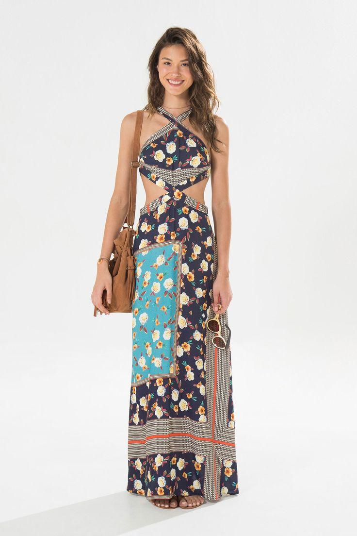 O corte desse vestido é muito lindo !!