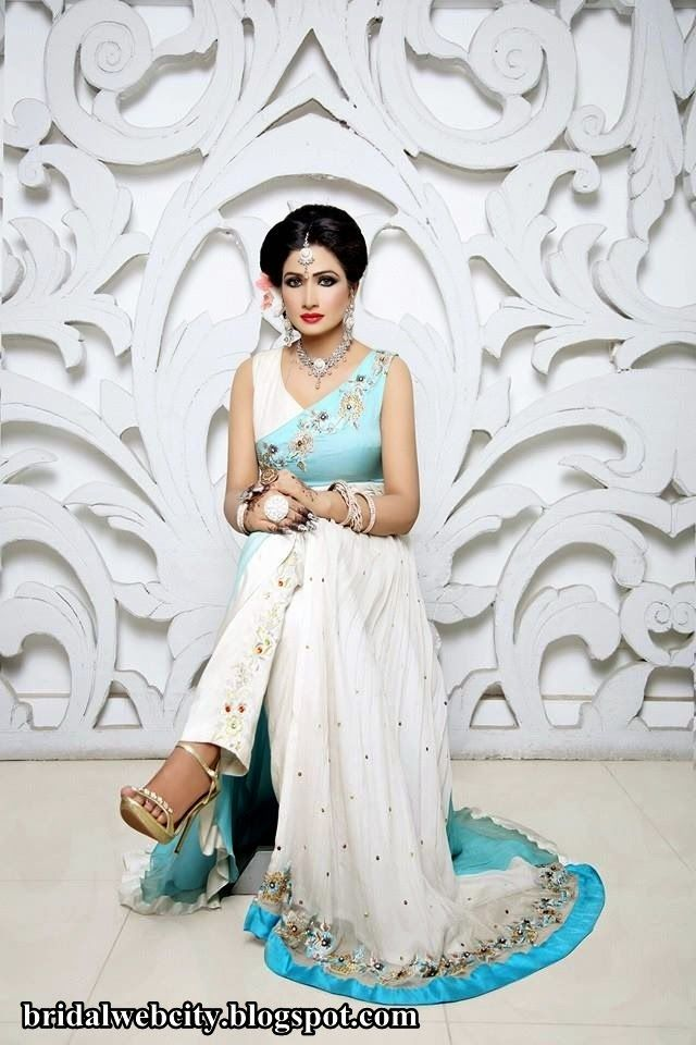 North Indian Dress Casual | Latest Bridal Casual Dresses 2014 For Women www.bridalwebcity.blogspot ...