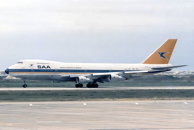 ZS SAS Herderberg  Faro Airport in 1986