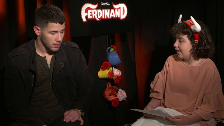 Interview with Nick Jonas from Ferdinand conducted by KIDS FIRST! Film Critic Calista B. #KIDSFIRST! #Ferdinand