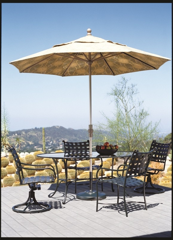 Roma Strap Dining Collection From Brown Jordan. #OutdoorFurniture #Florida  #WestPalm #Patio