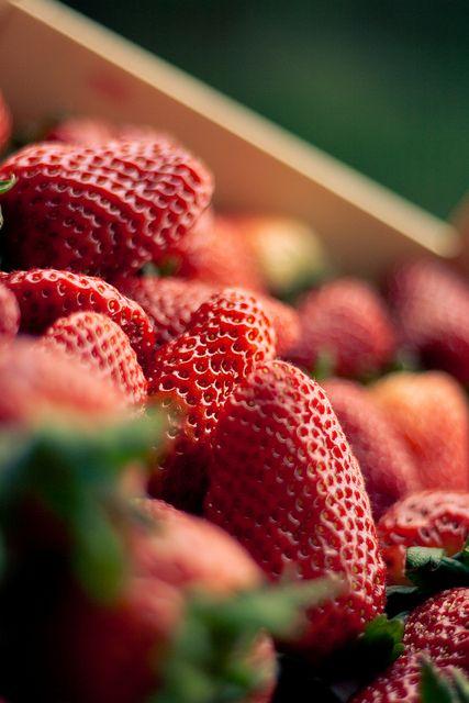 Strawberries - simply delicious (no recipe)