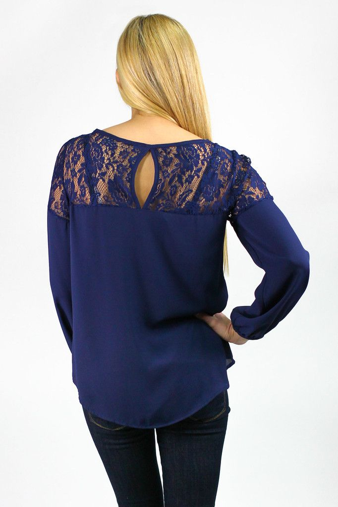 Dress Me in Lace Blouse $34.50