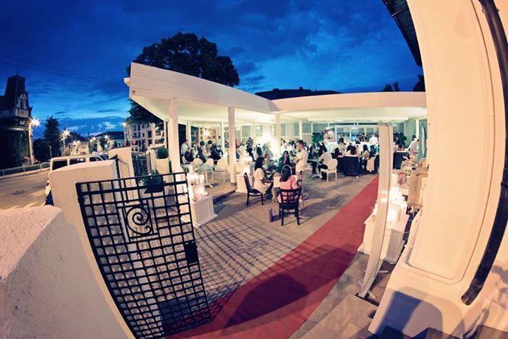 Italian feel terrace, perfect for a hot summer evening