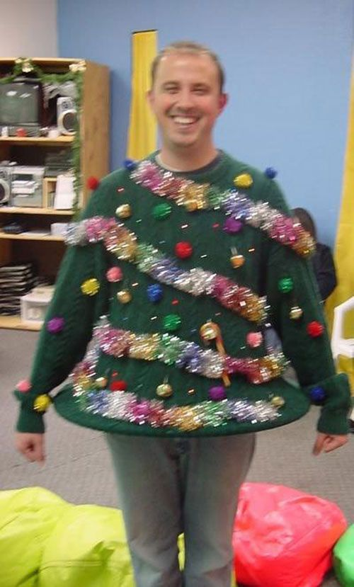 Your Big Collection of Outrageously Ugly DIY Christmas Sweater Ideas - DIY for Life