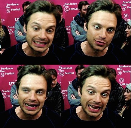"""Interviewer: *asks sebastian stan about his sex scene*"" — Dear sir, I love your face. Sincerely, Brianna P.S. What is this sex scene of which the OP speaks?! ;D"