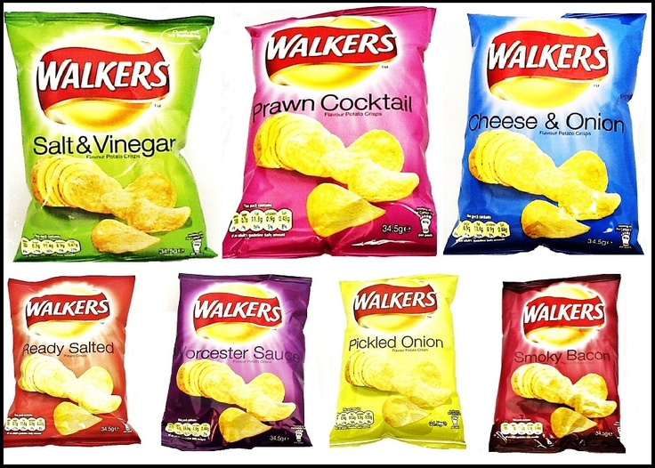 Walkers crisps. Nothing to do with the undead though ...