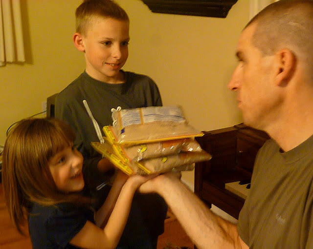 Awesome Object Lesson for any age about learning to \Share the Load\. Great way to teach why we do chores at home, why it is important to serve others, etc. Super Easy