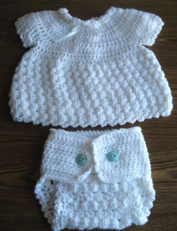 FREE STANDARD SHIPPING 2 Piece Crochet Baby by CarolinaCrochetNC, $42.00