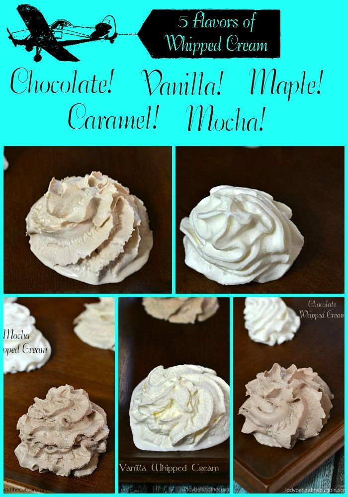 Easy whip cream icing recipe