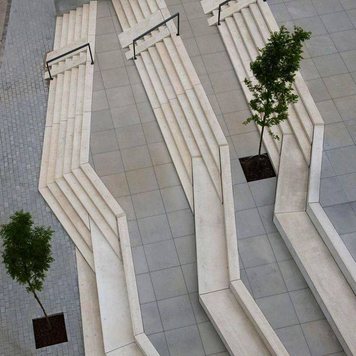 Modern Landscape Planters Out Postmodern Urban Landscape Definition Ap Human Geography Landscape Architecture Design Urban Landscape Design Landscape Stairs
