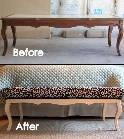 Coffe Table To Bench#Before_After