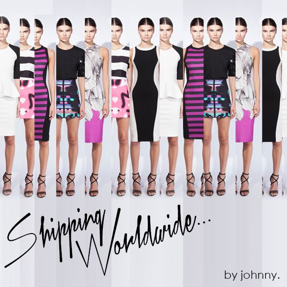 WORLDWIDE SHIPPING by johnny