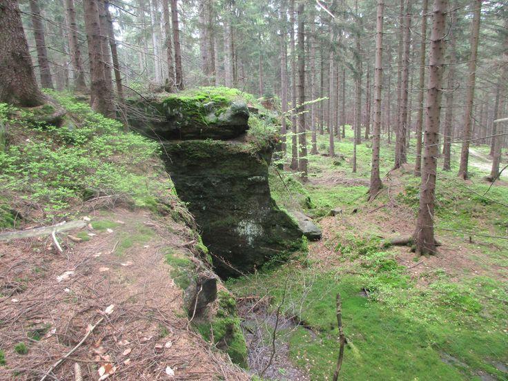 Jedlová - Lužické hory - severní Čechy