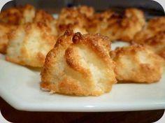 Rochers à la noix de coco (congolais) : la recette facile