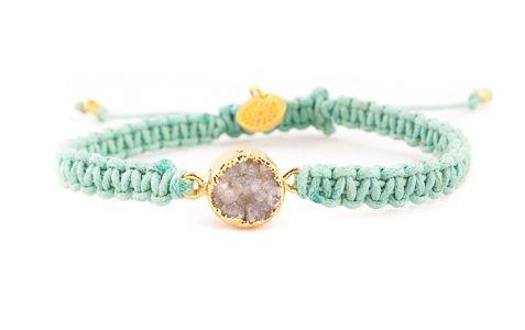 Drusy bracelet
