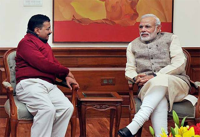Narendra Modi to skip Kejri swearing-in - read complete story click here.... http://www.thehansindia.com/posts/index/2015-02-13/Modi-to-skip-Kejri-swearing-in-131174