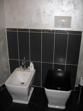 Il piccolo bagno di design. Villa singola Treviso.