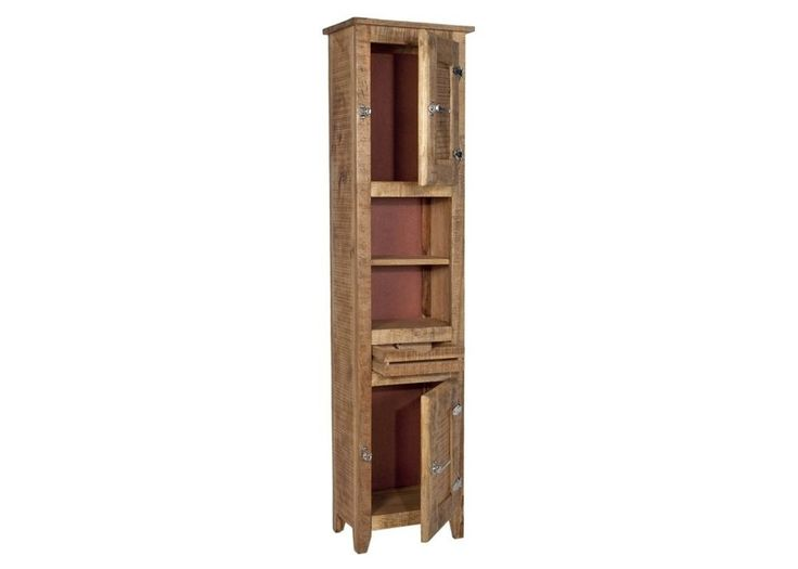 Badezimmerschrank Frigo Hochschrank Badregal Holz Massiv Mango 7704. Buy  Now At Https://