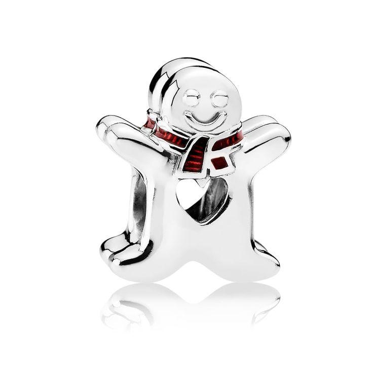 Pandora Gingerbread Man Charm 792002EN07