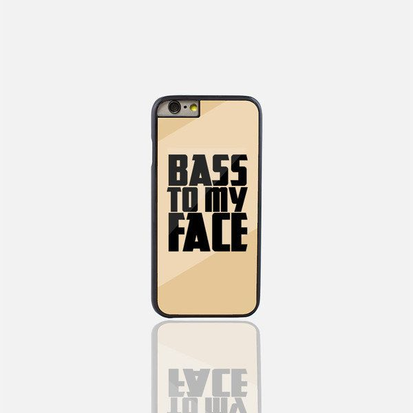 iPhone 6/6s cases | Bass To My Face Gold Phone Case (iPhone 6S)