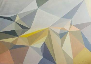 """Saatchi Art Artist Malvina - Carola Liuba; Painting, """"Scarred Letters 10"""" #art"""