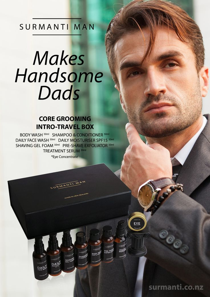 The Surmanti Man® skin care line is as sexy as the man that uses it;  The ultimate solution for today's distinct man.  Come on over to the DARK side… Surmanti Man – BLACK, BOLD, GOLD and SEXY.