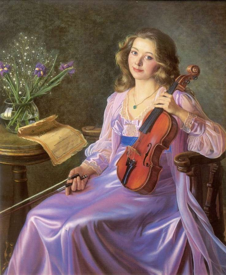 Музыка картинки живопись