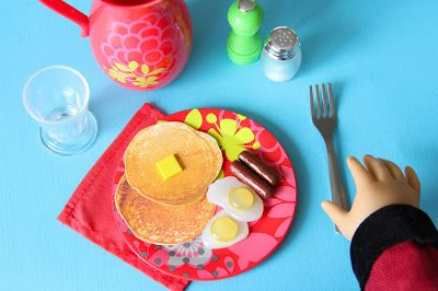 My Froggy Stuff Free Printables For Dollhouse Pancakes