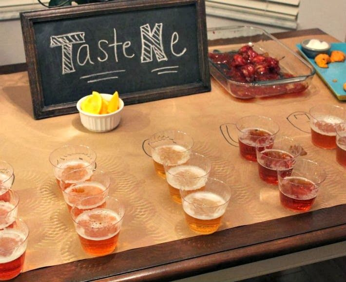 Craft Beer Tasting Party 101- Get some friends together and throw a craft beer party- This site has some great ideas for planning your own tasting