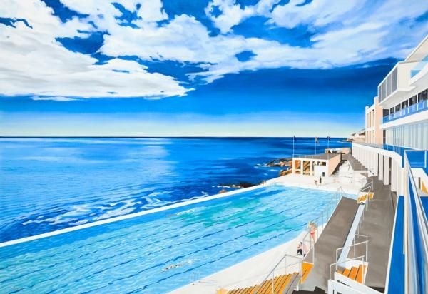 Iceberg pool at Bondi Beach, AU This is the pool where we went to when we were children