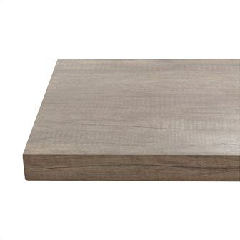 Πάγκος κουζίνας Μ315xΒ65xΠ3.8 cm εφέ ξύλου γκρι Κωδ: 61895582 129,00 €