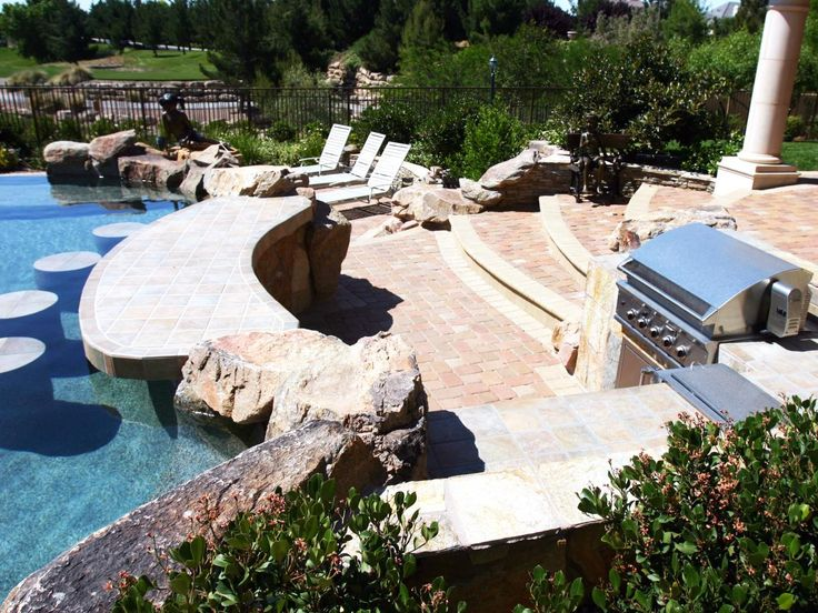 107 best images about pool on pinterest for Outdoor pool bar ideas