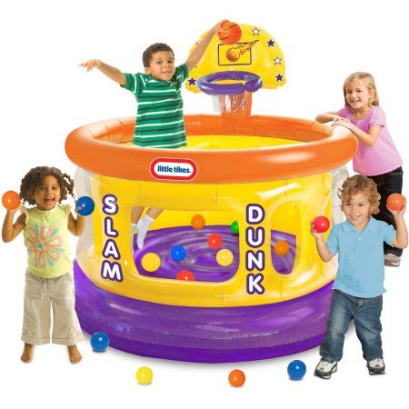 Little Tikes Slam Dunk Big Ball Pit - Walmart.com
