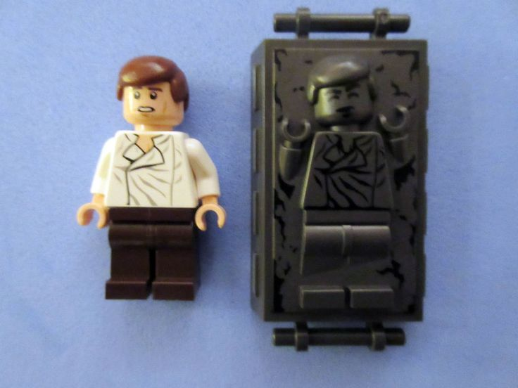 Best Star Wars Lego And Custom Mini Figures Images On Pinterest - 25 2 lego star wars minifigures han solo han in carbonite blaster