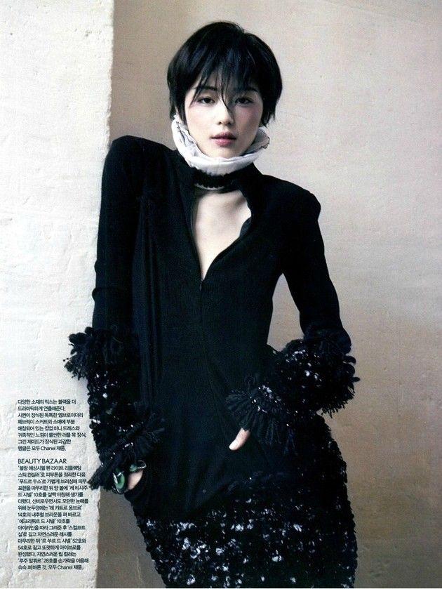 Jun Ji-Hyun 전지현 단발