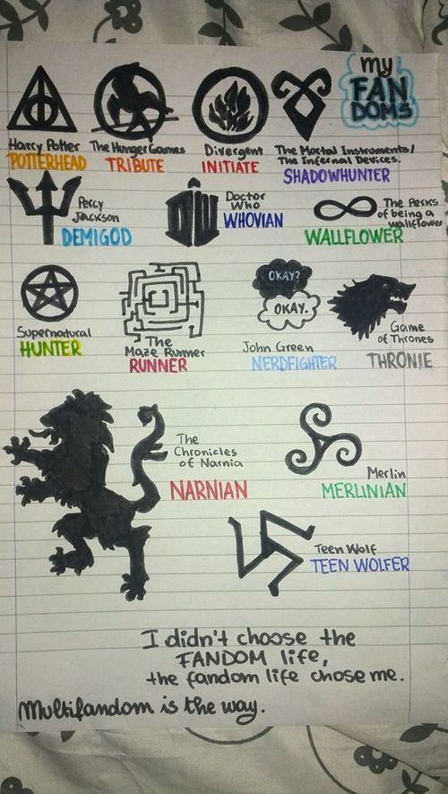 like if you see your fandom///I'm literally in all of these fandoms