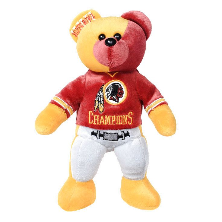 Washington Redskins Super Bowl XXII Champions Thematic Bear - $13.59