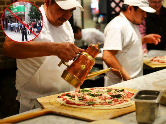 juliana's pizza not grimaldis in brooklyn