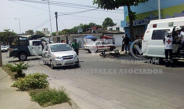 Continúan los choque en la Chapultepec en Poza Rica - http://www.esnoticiaveracruz.com/continuan-los-choque-en-la-chapultepec-en-poza-rica/
