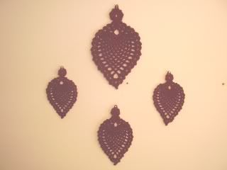 Wrought Iron Pineapple Wall hangings ~ free pattern