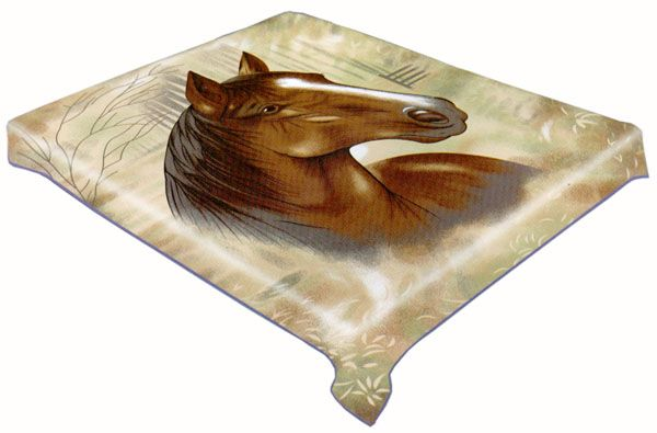 how to make a blanket made from a horse blanet