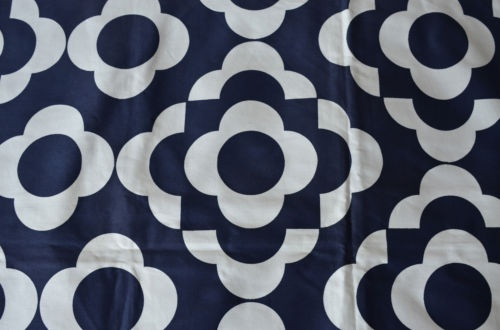 Quarto 1960s fabric, designed by Margaret Cannon for Hull Traders
