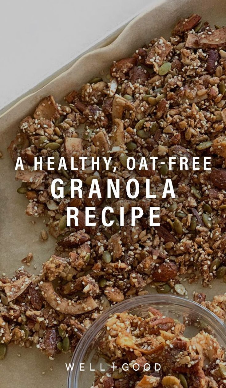 This Healthy Oat Free Granola Recipe Works With Every Eating Plan Granola Recipe Healthy Granola Healthy Granola Recipes