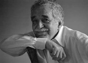 """This is my favorite writer and today is his birthday.  He wrote """"Cien años de soledad"""", Crónica de una muerte anunciada"""", and anothers.  Happy Birthday, Gabo!"""